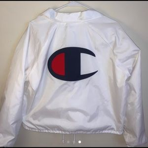 Champions cropped jacket